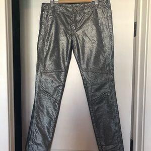 Armani Exchange Metallic Jeans